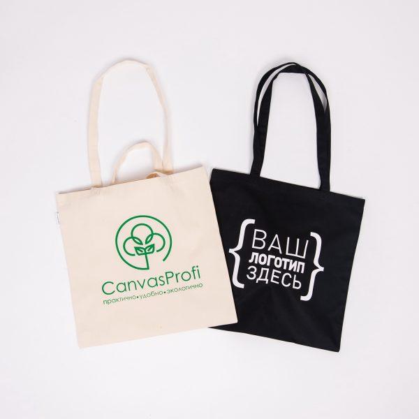 Сумки шопперы с логотипом