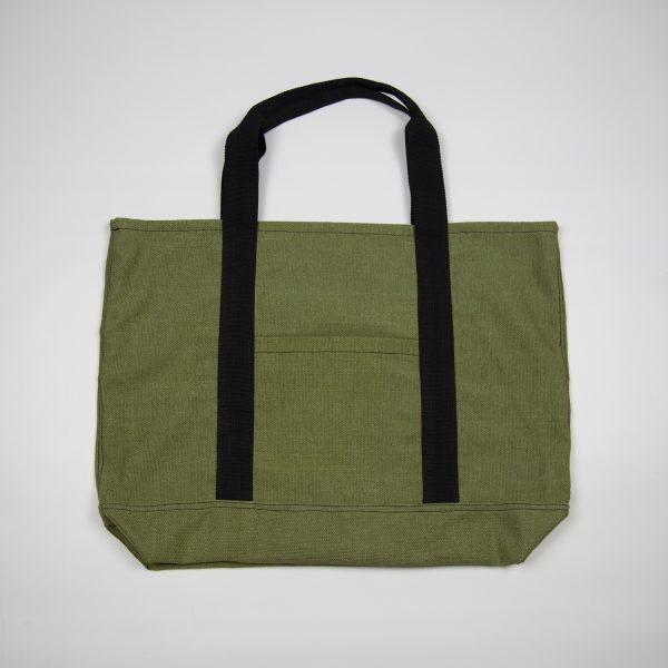 Зелёная сумка мужская
