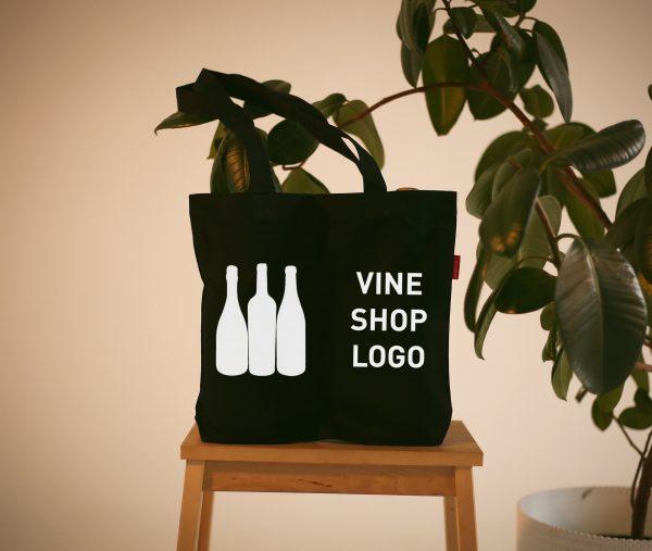 Сумка шоппер с логотипом - корпоративные подарки